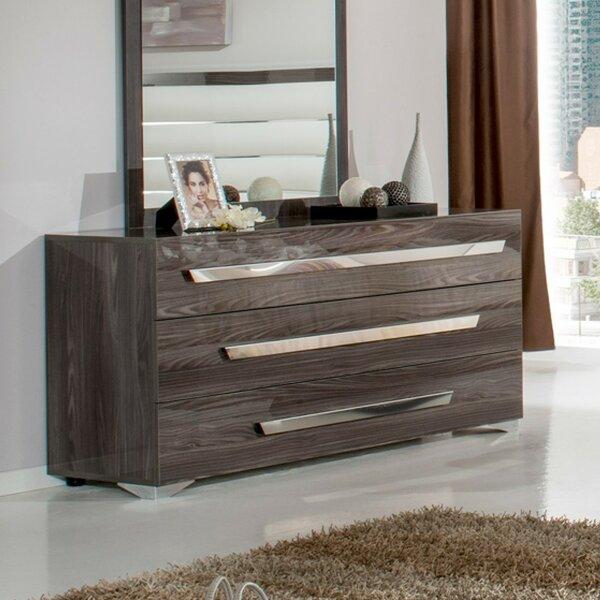 Montekki 3 Drawer Dresser by Orren Ellis