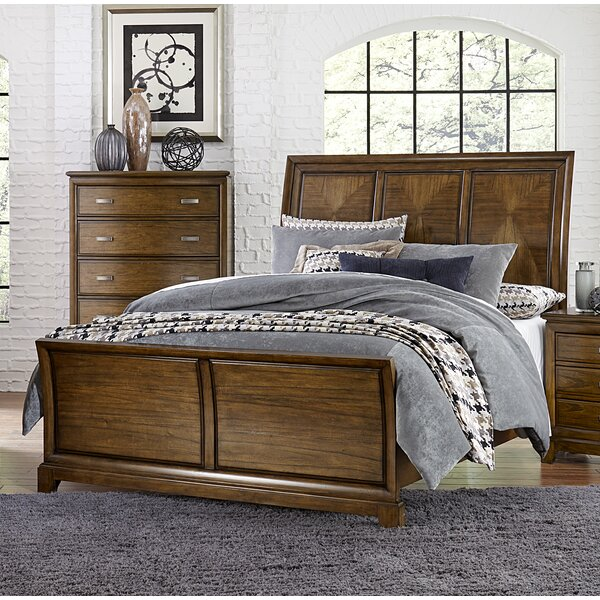 Shirebrook Queen Panel Bed by Charlton Home
