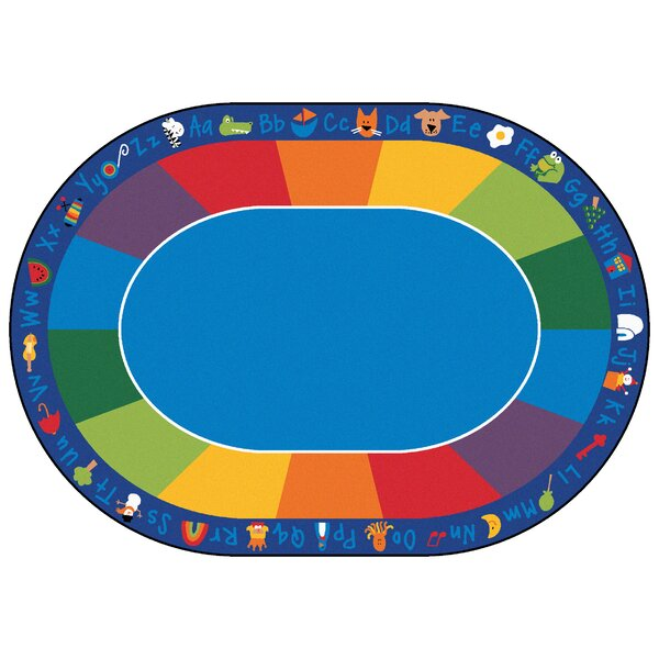 Emerado Fun Area Rug with Phonics Horizontal by Zoomie Kids