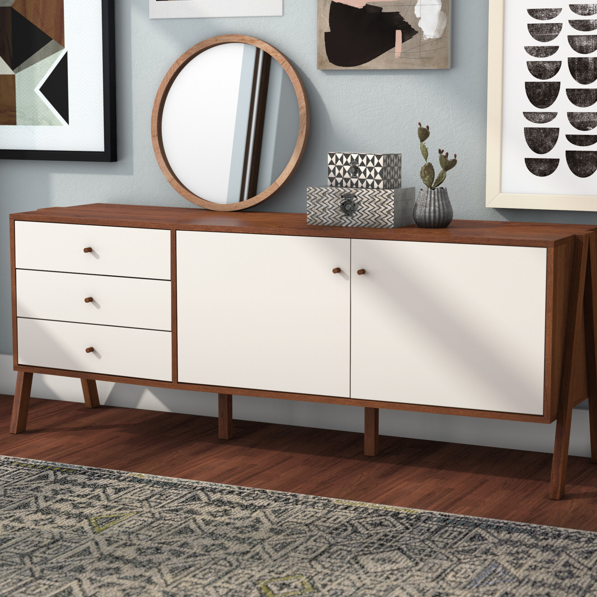 console storage king content table res technicalissues global cherry with s and p drawers brand inflow inflowcomponent wood sideboard kings