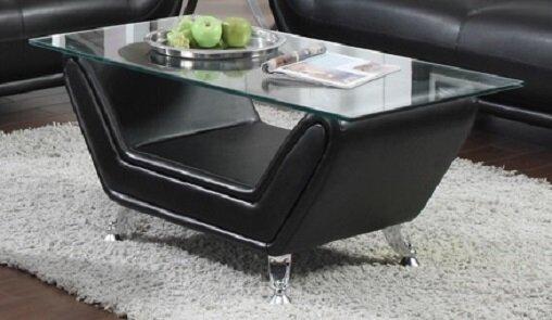 Esme 3 Piece Leather Living Room Set (Set of 3) by Orren Ellis