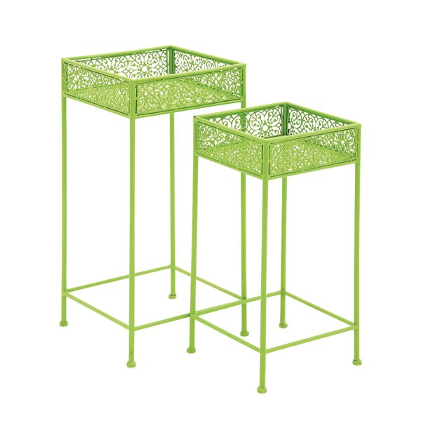 2 Piece Plant Stand Set by Cole & Grey
