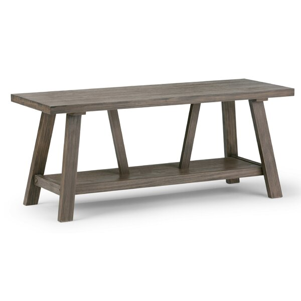 Dylan Wood Storage Bench by Simpli Home