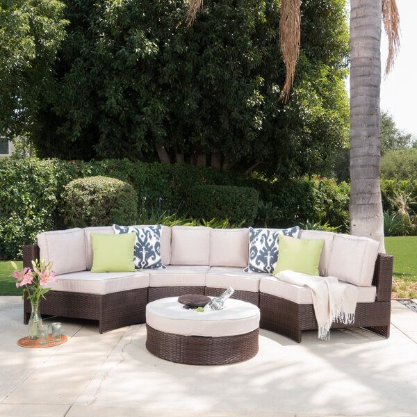 Daniela 5 Piece Sectional Set with Cushions by Latitude Run