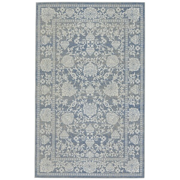 Gavin Blue Area Rug by Threadbind