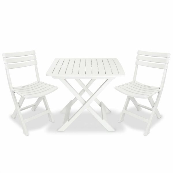 Aqsa 3 Piece Bistro Set by Latitude Run