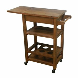 Tottenham Wooden Dining Bar Cart by Darby Home Co
