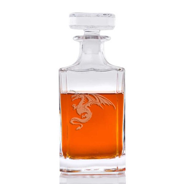 Qing Dragon Classic 26 oz. Decanter by Bloomsbury Market