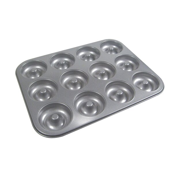 La Patisserie 12 Cup Non-Stick Donut Muffin Pan by MyCuisina