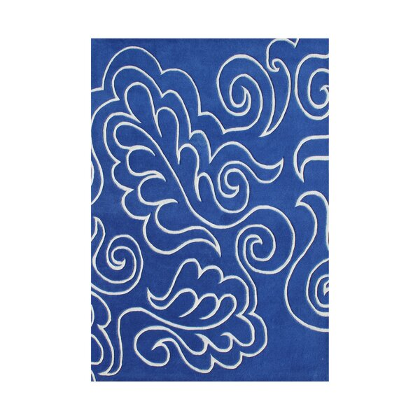 Warrendale Hand-Tufted Blue Area Rug by The Conestoga Trading Co.