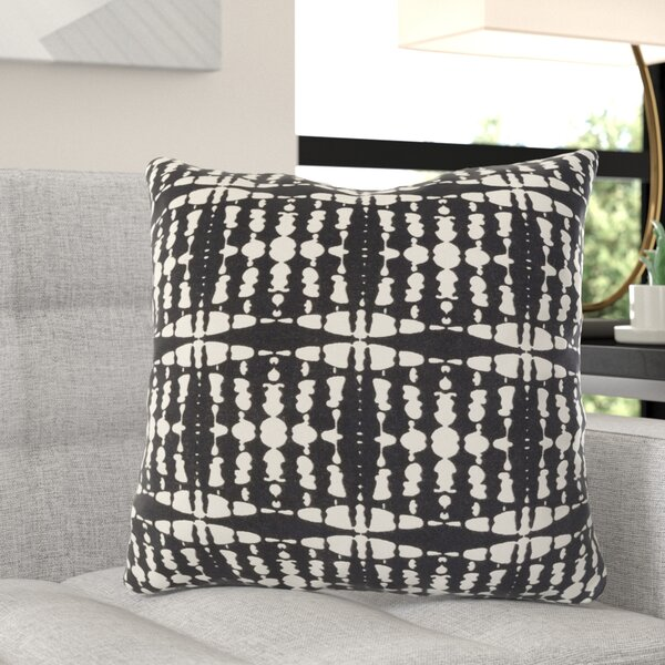 Serenity Cotton Throw Pillow by Wade Logan