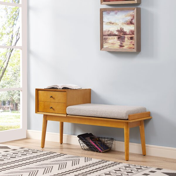Easmor Upholstered Storage Bench by Langley Street