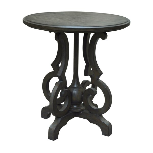 Batley Shaped Leg End Table by Alcott Hill