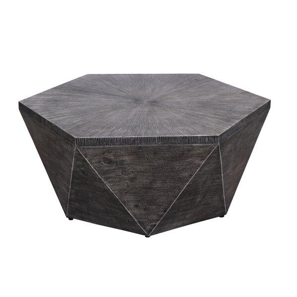 Morwenna Stone/Concrete Coffee Table by Williston Forge