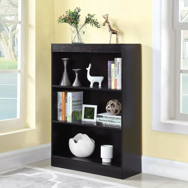 Holden Compact Wooden Standard Bookcase by Winston Porter