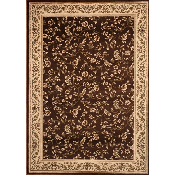 Classique Brown Area Rug by World Rug Gallery