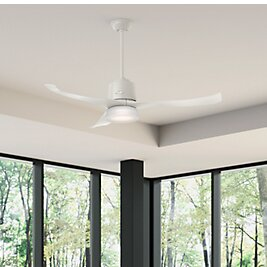 54 Symphony Wi-Fi 3 Blade LED Ceiling Fan with Remote by Hunter Fan