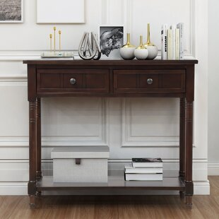 Melanson 35 Console Table by Canora Grey