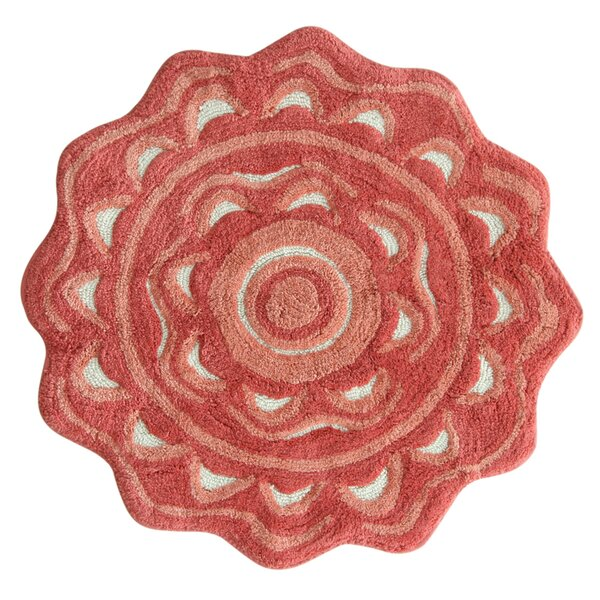 Medallion Spice Coral Area Rug by Jessica Simpson Home