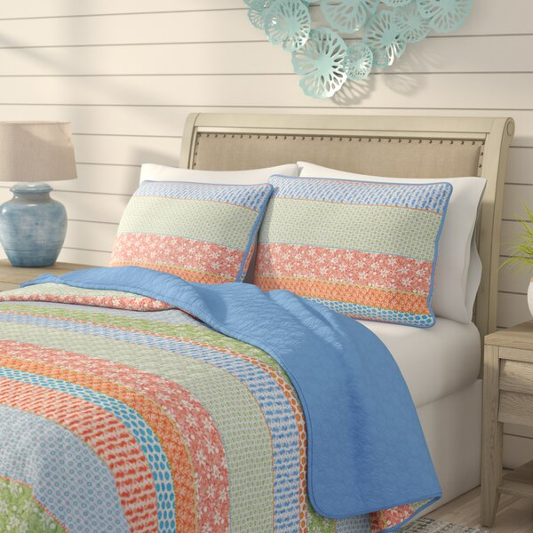 Catlin Reversible Quilt Set by Highland Dunes