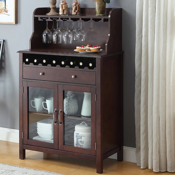 Dishon Bar Cabinet by Charlton Home Charlton Home