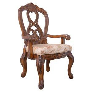 Liya Dining Arm Chair by Astoria Grand