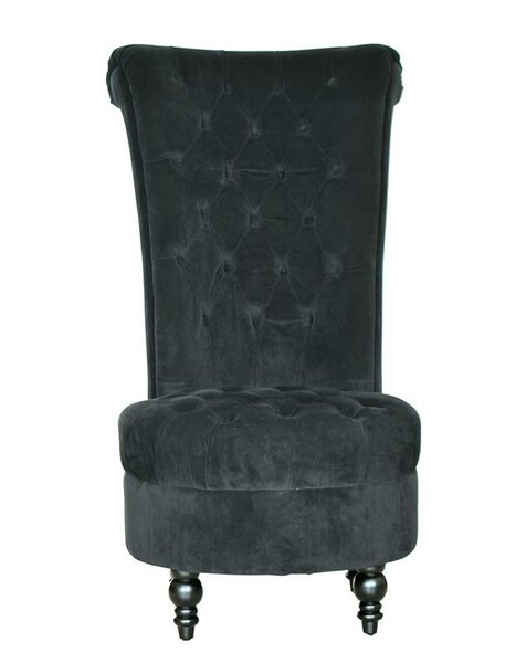 Side Chair and Ottoman by HomCom