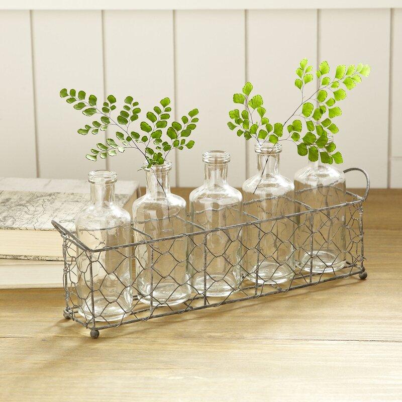 Penally 6 Piece Table Vase Set #glassvase #vase #bottle