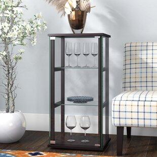 Alvin Curio Cabinet & Half Round Curio Cabinet | Wayfair
