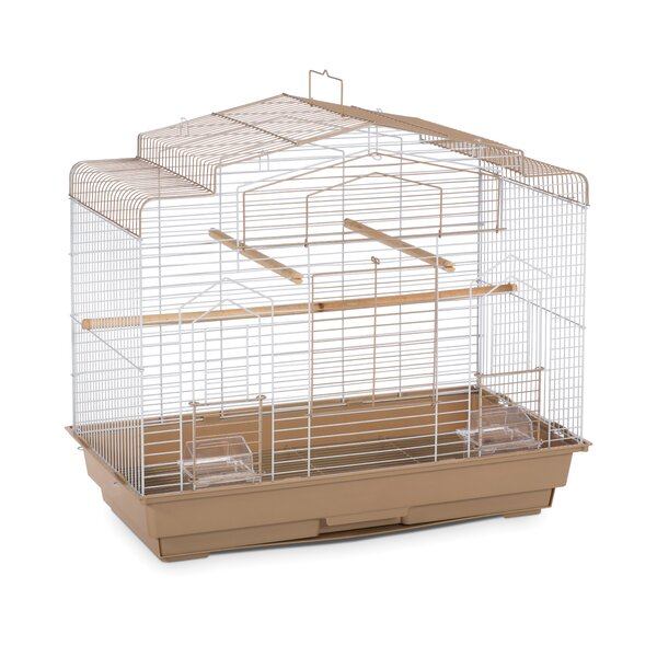 Barn Bird Cage with Food Access Door by Prevue Hendryx