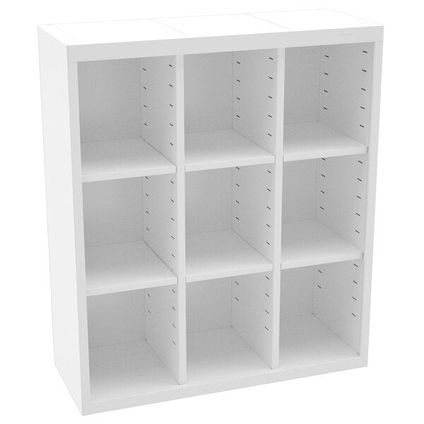 Storage Unit Bin 9 Compartment Cubby by Tennsco Corp.