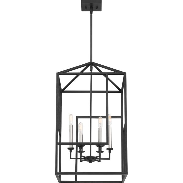 Roseanna 6 - Light Lantern Rectangle Chandelier by Wrought Studio Wrought Studio