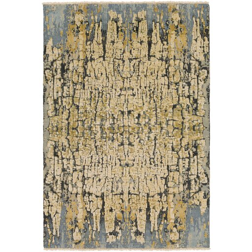 Varnai Hand-Knotted Area Rug by Bungalow Rose