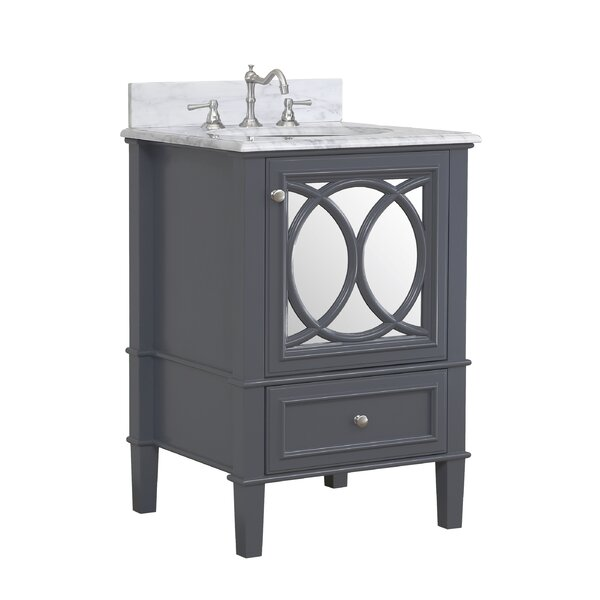 Olivia 24 Single Bathroom Vanity Set by Kitchen Bath Collection
