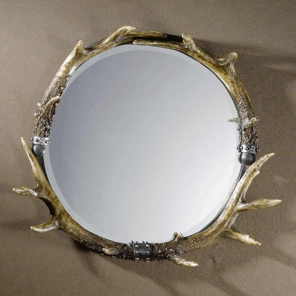 Rustic Wall Mirror by Loon Peak
