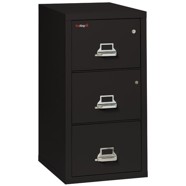 Legal Safe-In-A-File Fireproof 3-Drawer Vertical File Cabinet by FireKingLegal Safe-In-A-File Fireproof 3-Drawer Vertical File Cabinet by FireKing