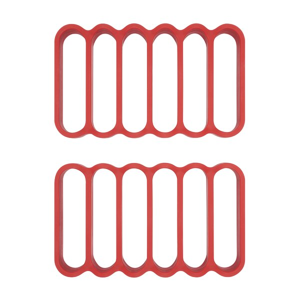 4.9 Silicone Roasting Rack (Set of 2) by OXO