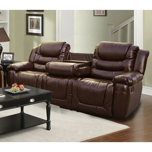 Beverly Fine Furniture Ottawa Leather Reclining Sofa U0026 Reviews | Wayfair Part 65