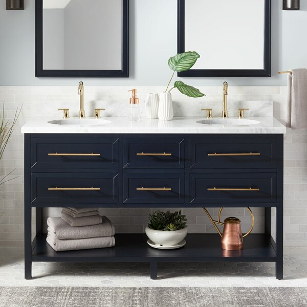 Robertson 61 Double Bathroom Vanity Set