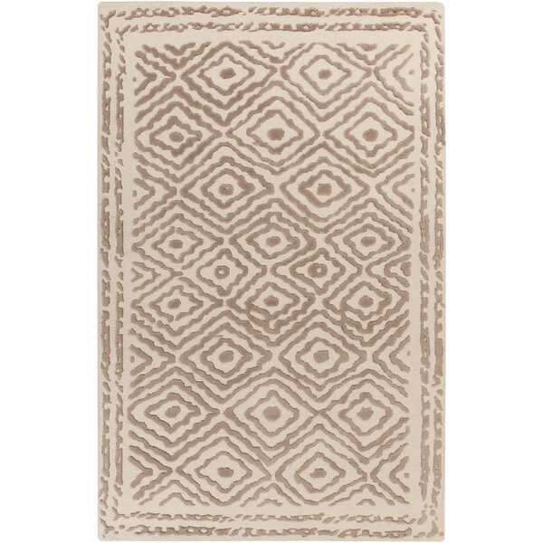 Sala Hand Knotted Wool Taupe/Beige Rug