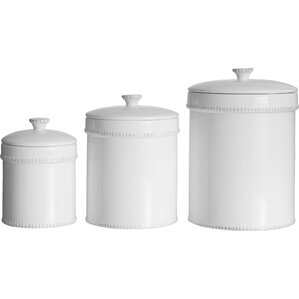 Farnol 3 Piece Kitchen Canister Set