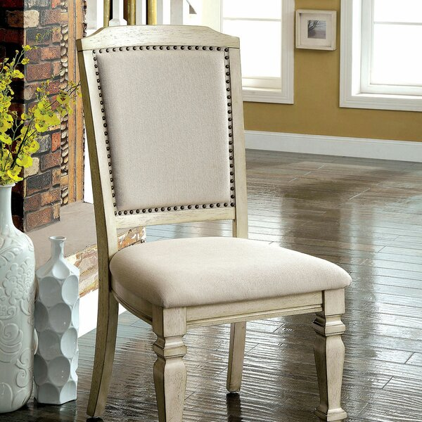 Vivienne Upholstered Dining Chair (Set of 2) by Ophelia & Co.