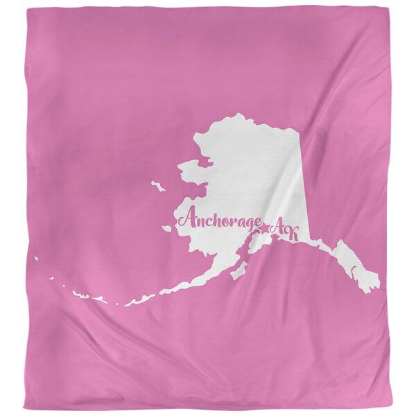Anchorage Alaska Duvet Cover