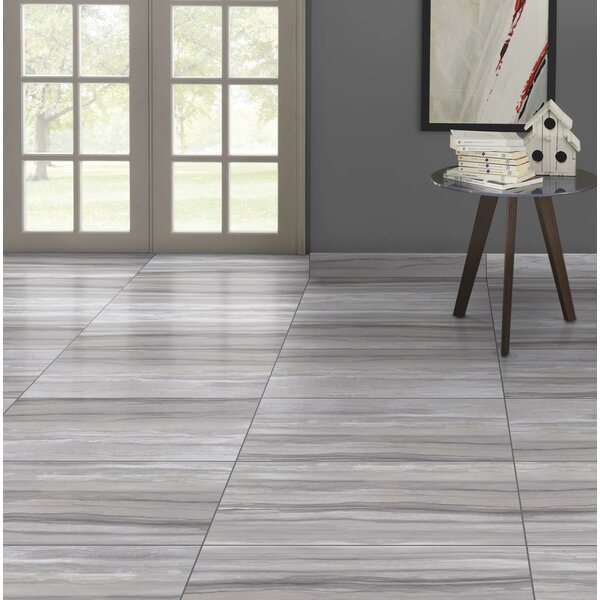 Ciudad 12 x 24 Ceramic Field Tile in Gray by Emser