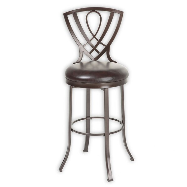 Claiborne 30 Swivel Bar Stool by Fleur De Lis Living