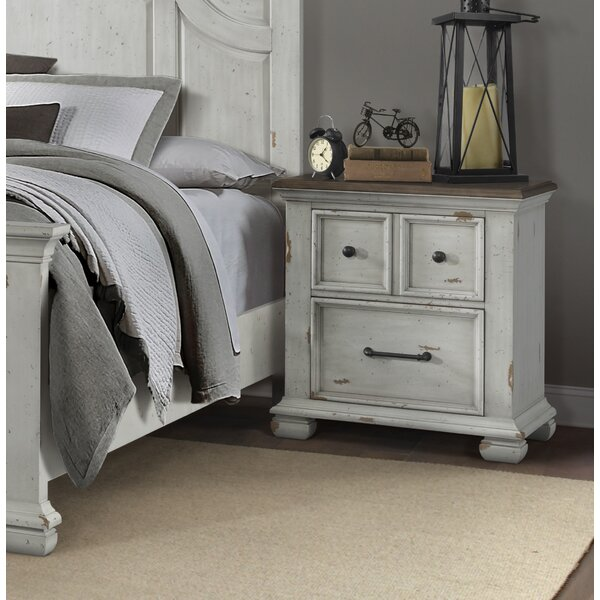 Schutz 2 Drawer Nightstand by Gracie Oaks