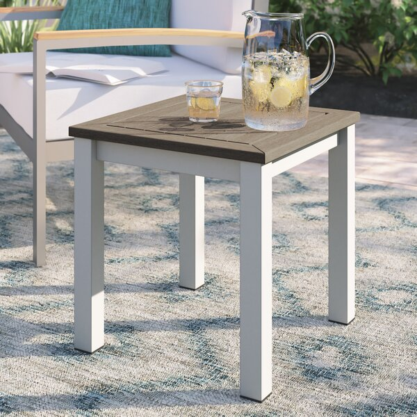 Caspian Manufactured Wood Side Table by Sol 72 Outdoor