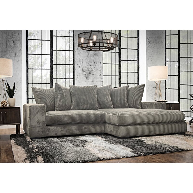 piece chaise loric spaces pdp living laf w wlaf sectional smoke