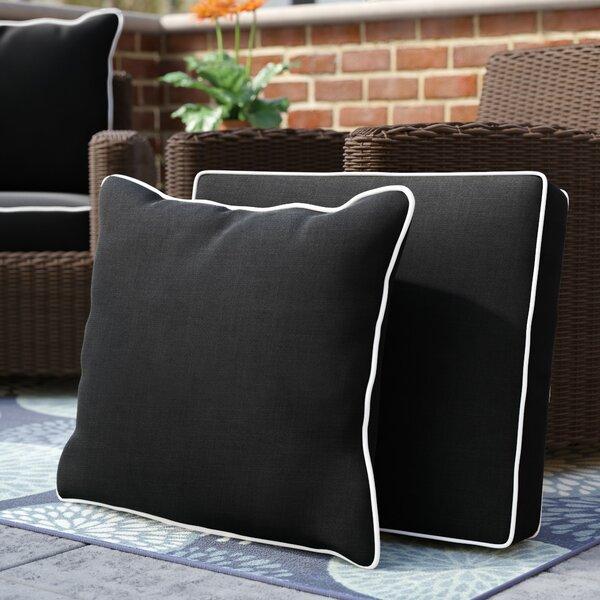 Chic Indoor/Outdoor Sunbrella Dining Chair Cushion by Latitude Run