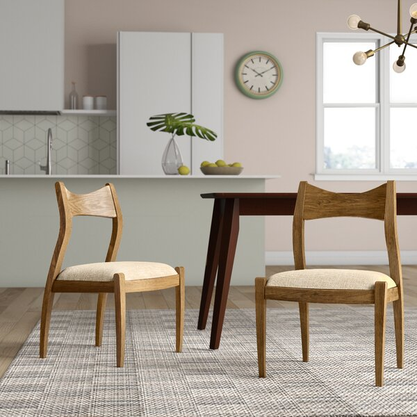 Savion Upholstered Dining Chair (Set of 2) by Langley Street